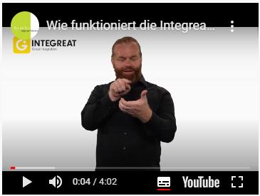 Integreat Gebärdensprachenvideo